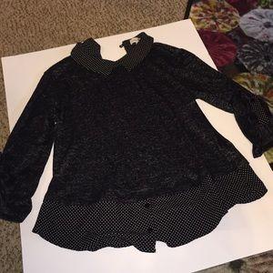 Faith and Joy size S , 3/4 sleeve blouse